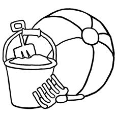 Top 20 Free Printable Beach Ball Coloring Pages Online Beach