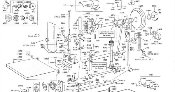 singer featherweight 221 parts diagram