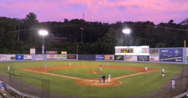 Mccormick Field Home Of The Asheville Tourists Asheville Nc Built In 1924 Lights Were Erected In 1930 Ty Cobb Hit Th Baseball Park Stadium Asheville