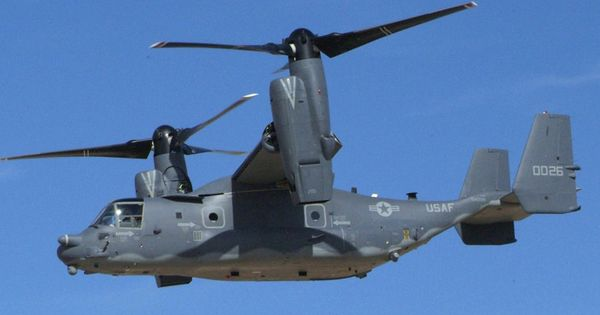The Bell Boeing V-22 Osprey Is An American Multi-mission