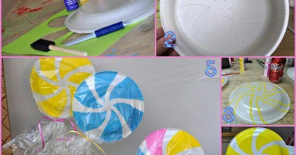 DIY Lollipops The Big 3 Pinterest Candyland And