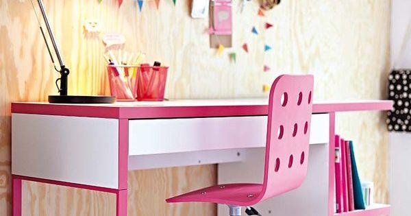 Escritorios infantiles con la mesa micke de ikea para - Ikea mesas estudio ninos ...