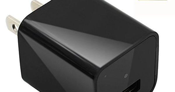 Camakt 1080p Hd Usb Wall Charger Hidden Spy Camera Nanny