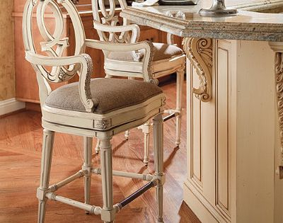 Cornelia Bar Stool Frontgate Good For French Country French Country Bar Stools French Country Kitchens Country Bar Stools