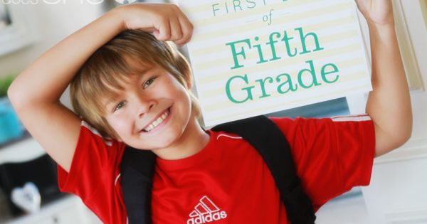 First day of school signs (plus tons of other great free printables)!