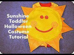 Make A Sun Costume Kids Art Toddler Costumes