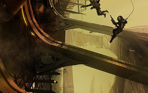Alex Chin Yu Chu is a concept artist who's worked on titles