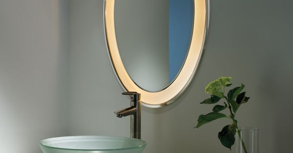 Tigris Mirror Oval From Tech Lighting Is An Oval Shaped