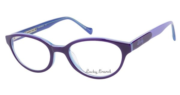 Bright Blue Glasses Frames : These Lucky Viola Purple Blue eyeglasses are bright and ...