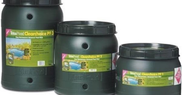 Pond bio filter 1200 gallon green by tetra for Pond filter maintenance