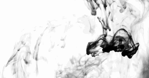 Black And White Design Black Smoke Liquid Gif Black And White Gif Ink In Water Aesthetic Gif
