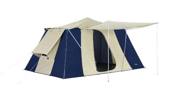 Canvas Quick Pitch Tourer Twin Touring Tent By Oztrail Tent Station Eleven Outdoor Gear