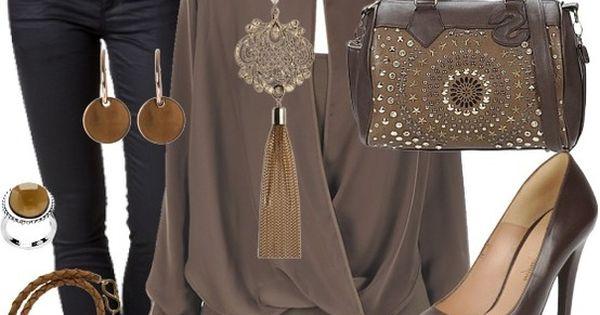 lovely brown tenue de travail look pinterest brun. Black Bedroom Furniture Sets. Home Design Ideas