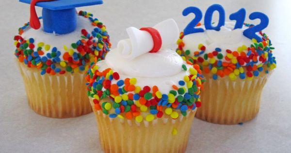 kindergarten graduation cupcakes google search graduation1 pinterest graduaci n. Black Bedroom Furniture Sets. Home Design Ideas