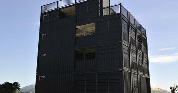 沖縄のコンテナハウス 建築基準法完全準拠 コンテナハウス コンテナ