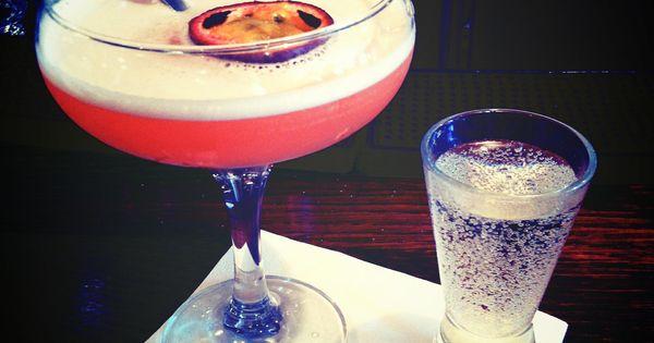 Pornstar martini a fruity vodka based cocktail served for Vodka based summer cocktails