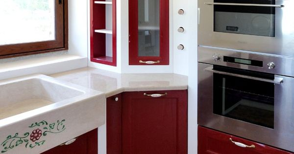 Cucina in muratura realizzata su misura da for Planimetrie rustiche