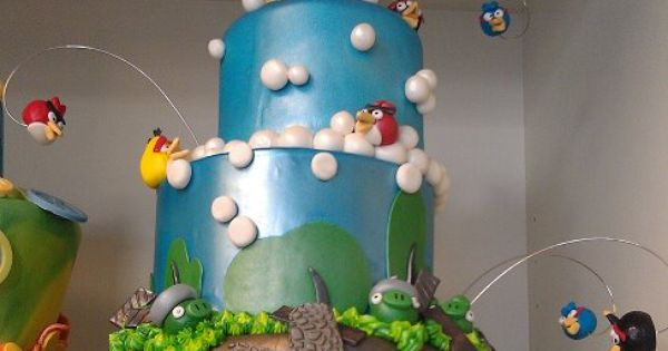 amazing cakes | Amazing Angry Birds Cake - Funny Cake Pictures