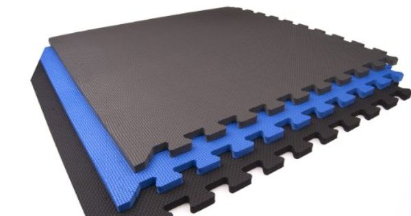 Exervo Hd12 1 2 Quot Thick Premium Eva Interlocking Foam Mats Edging Included For Only 24 Interlocking Foam Mats Floor Workouts Interlocking Mats