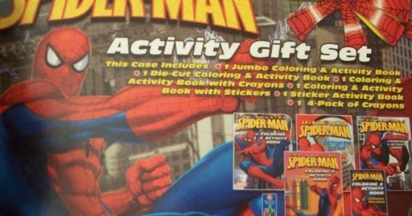 Spider Sense Spider Man Activity Gift Set By Marvel Entertainment Inc 8 00 Spider Sense Spider Man Activity Gift S Crayon Book Book Activities Marvel Entertainment