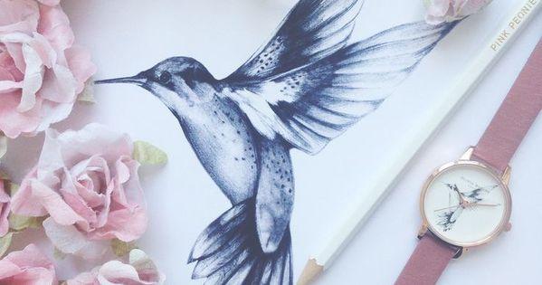 Kolibry Drawing For A Tattoo Hummingbird Tattoo Rose Tattoos Simple Bird Tattoo