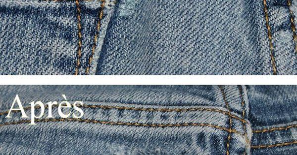 tuto comment r parer son vieux jeans v tements et accessoires porter pinterest. Black Bedroom Furniture Sets. Home Design Ideas
