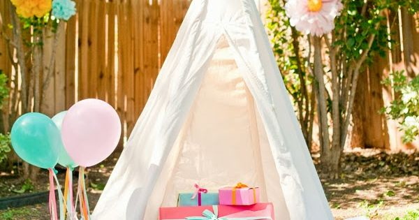 Girls Back Yard Birthday Party Ideas