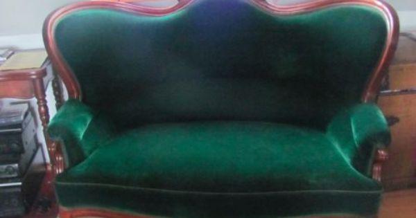 Spatbiedermeier Sofa 5 Stuhle Stuhle Biedermeier Sofa