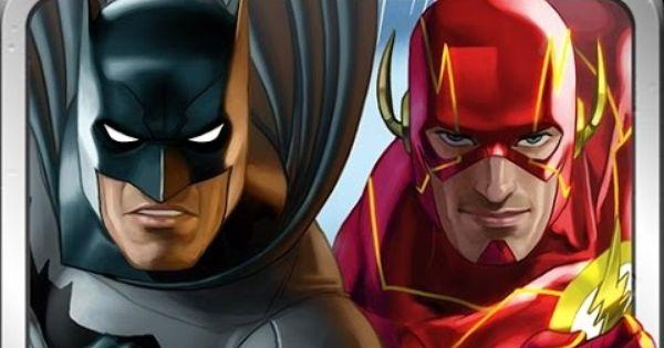 Batman And Flash Team Up Vs The Top Captain Cold Heroclix Battle