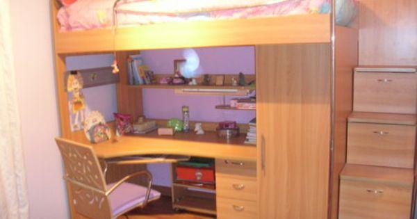 Fotos de cama en altura multifuncional santiago camas for Decoracion hogar santiago