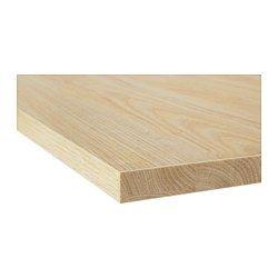 Ekbacken Plan De Travail Decor Frene Stratifie 246x2 8 Cm Aanrechtblad Ikea Laminaat