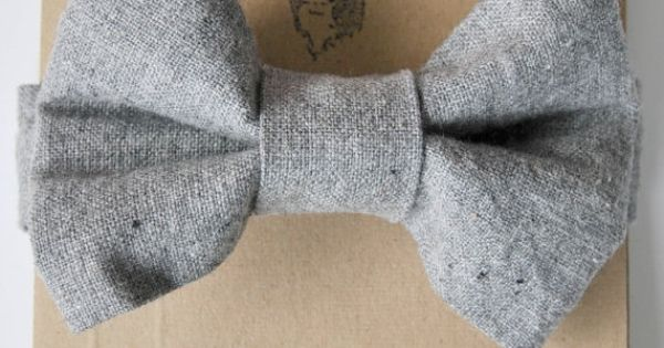 Wool tie - photo