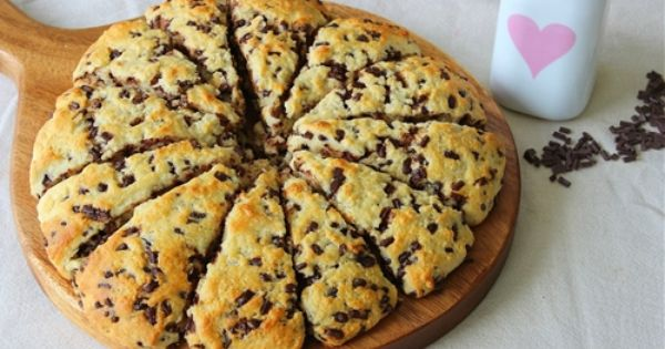 Buttermilk Chocolate Chip Scones Easter Brunch Bites Recipes Healthy Scones