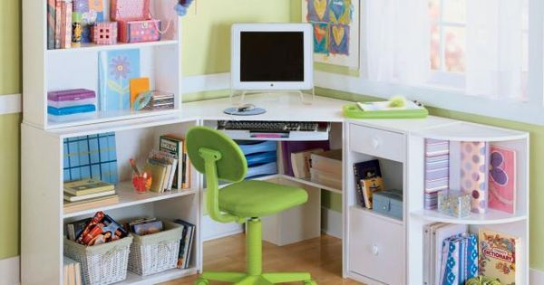 Art desk with storage organization for kids room - Art desk with storage organization ...