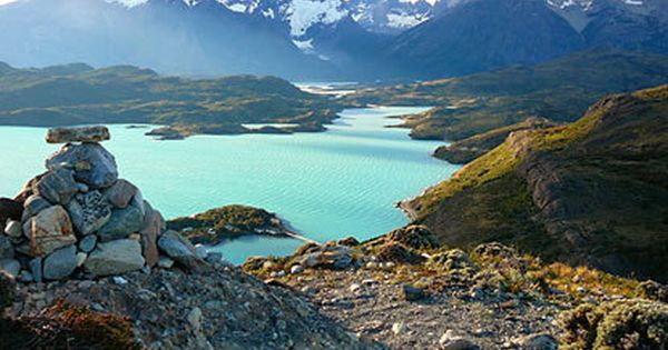 Torres del Paine National Park. Chile, South America