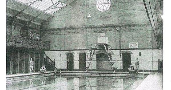 Inside Monson Road Swimming Baths 1949 Old Tunbridge Wells Pinterest Swimming Roads And Bath