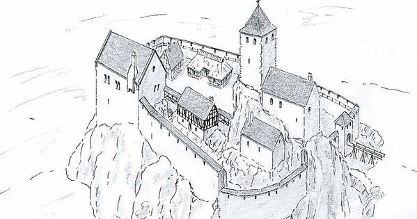 Pin Von Jarek Szwak Auf Castles Burg Schlosszeichnung Fantasieschloss
