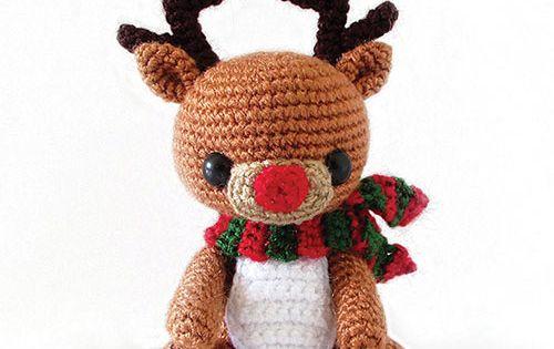 Rudy Reindeer Amigurumi : Download Rudy The Reindeer Amigurumi Pattern (FREE ...