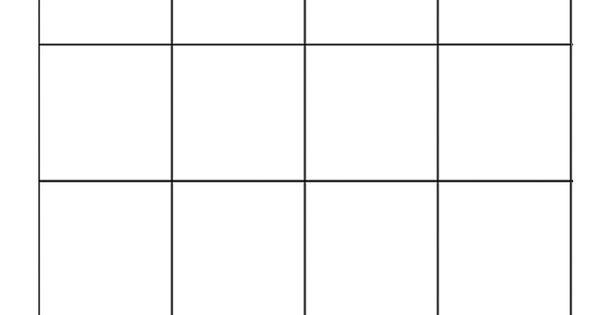 4x4 bingo template - bingo pelipohja m a t h s pinterest