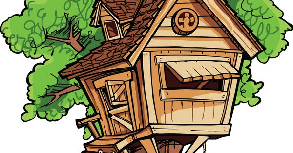 clipart pictures tree house - photo #34