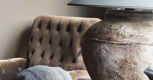 Pin van maaike op interieur pinterest landelijk wonen lampen en decoratie - Interieurontwerp thuis kleur ...
