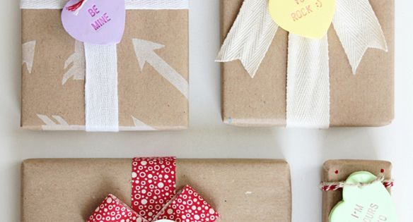 DIY: Heart Candy Gift Tags. Also, I love love love the idea
