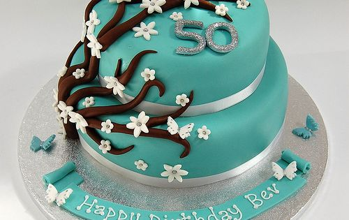 Flower Birthday Cakes Women So Easily Have Two The