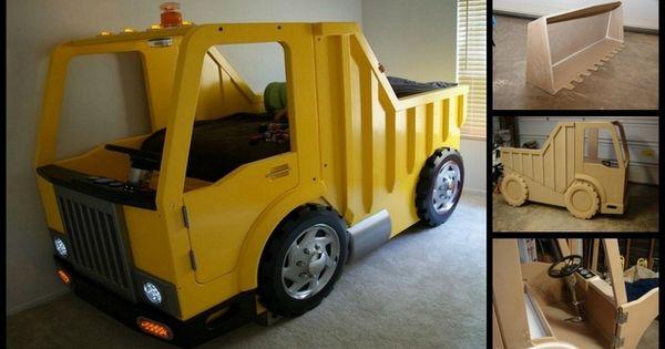 Homemade truck bed for boys google search for the home pinterest truck bed dump trucks - Kids dump truck bed ...