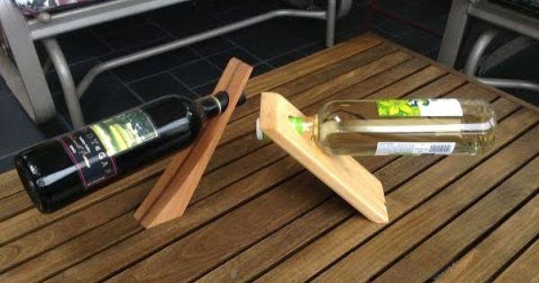 Comment Creer Un Range Bouteilles Ou Un Casier A Vin Porte Bouteille Vin Range Bouteille Porte Bouteille