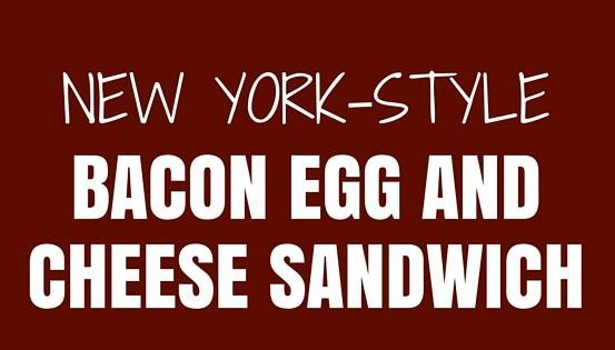 Bacon egg and cheese, Egg and cheese and Bacon egg on Pinterest