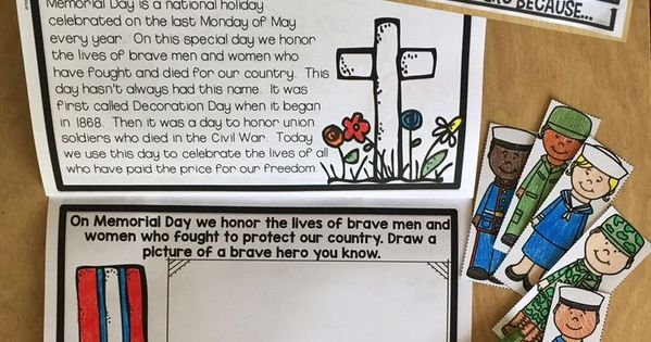 memorial day books for preschoolers