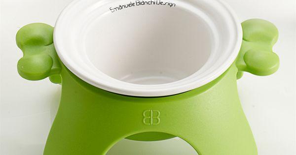 Yoga Bowl Dog Dish From Emanuele Bianchi Design Raised