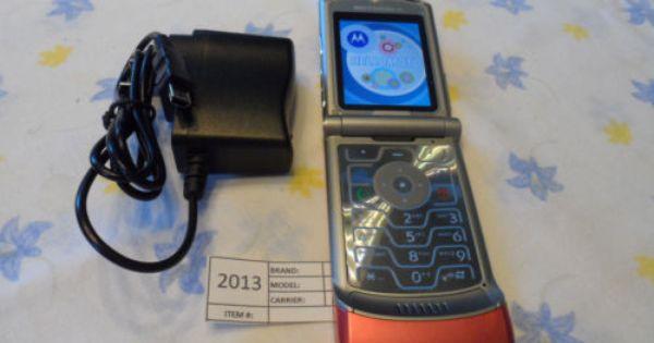 Motorola Razr V3 Light Pink Unlocked Cellular Flip Phone Worldwide Gsm Motorola Razr Motorola Flip Phones