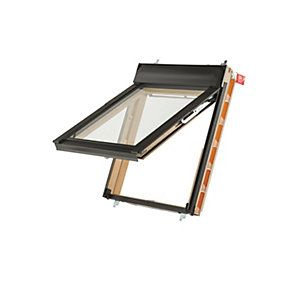 Keylite Pine Top Hung Means Of Escape Roof Window 1140 X 1180mm Roof Window Window Accessories Window Glazing